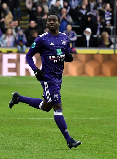 Dauda Mohammed has outgrown Anderlecht youth team- Player's agent