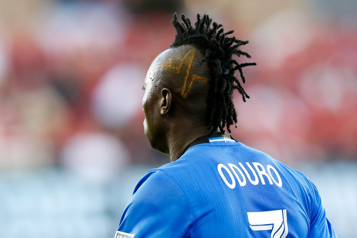 Montreal Impact's Dominic Oduro Shows off his Quirky Hairstyle Ahead Of Toronto Clash