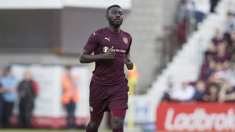 Ghana Midfielder Prince Buaben Set For Hearts Exit