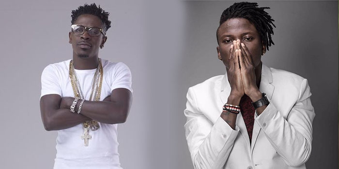 Nigerians blast Ghanaians for supporting 'frog voice' Shatta Wale over Stonebwoy