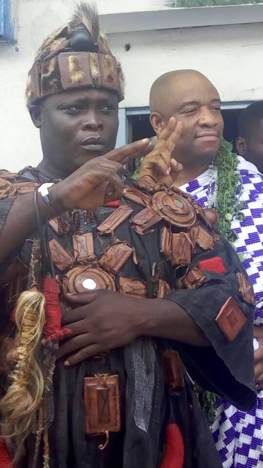 Ga Mantse officially visits Captain Kojo Mankattah We
