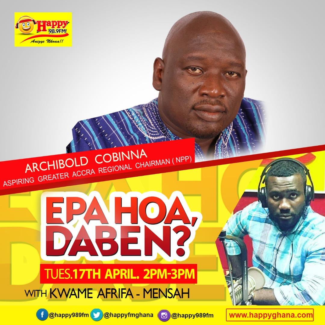 'I want to challenge myself Achibald to NPP delegates