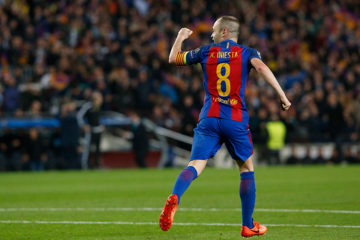 Twitter explodes as Andres Iniesta confirms Barcelona departure