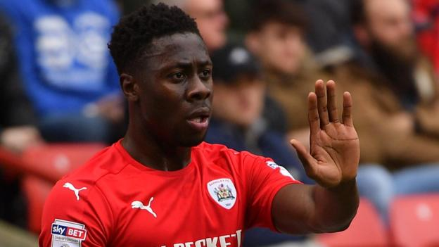 Andy Yiadom nominated for Barnsley player of the month