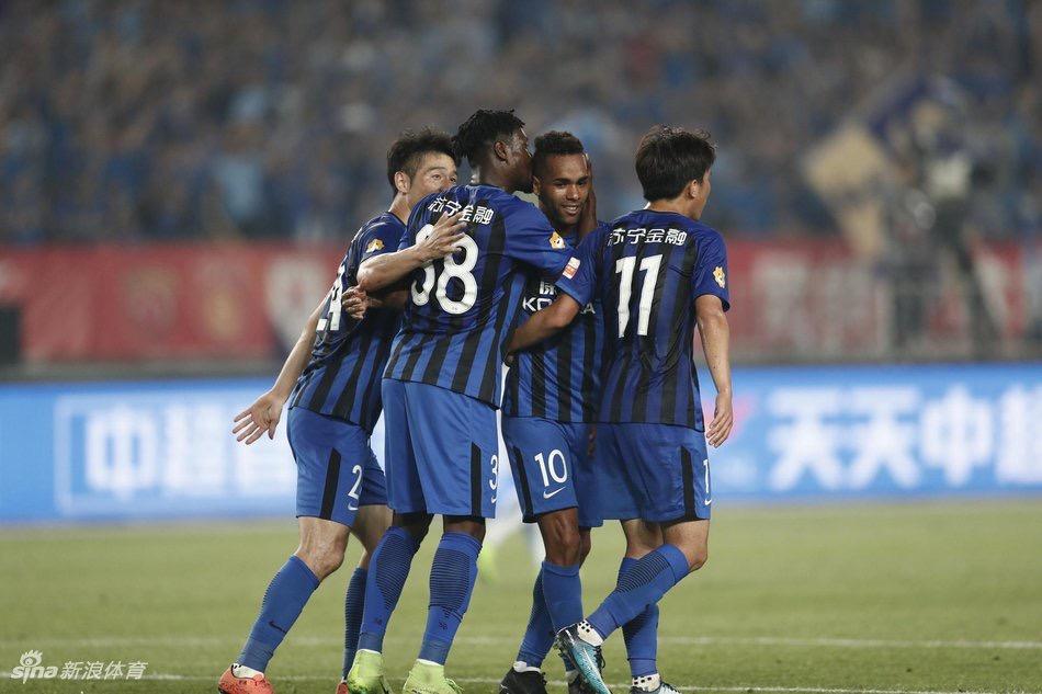 Jiangsu Suning striker Boakyi-Yiadom eulogizes coach Cosmin Olariou for Tianjin Teda victory