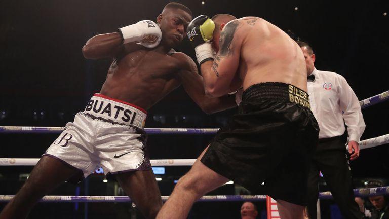 Photos: Ghanaian-born British Joshua Buatsi produces classy display on Joshua-Parker Undercard