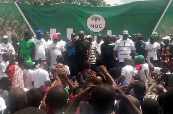 Mahama mocks NPP, says party has let Ghanaians down