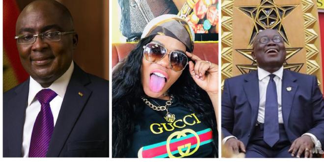 VIDEO: Mzbel mocks Akufo-Addo, Bawumia and Ken Ofori Atta