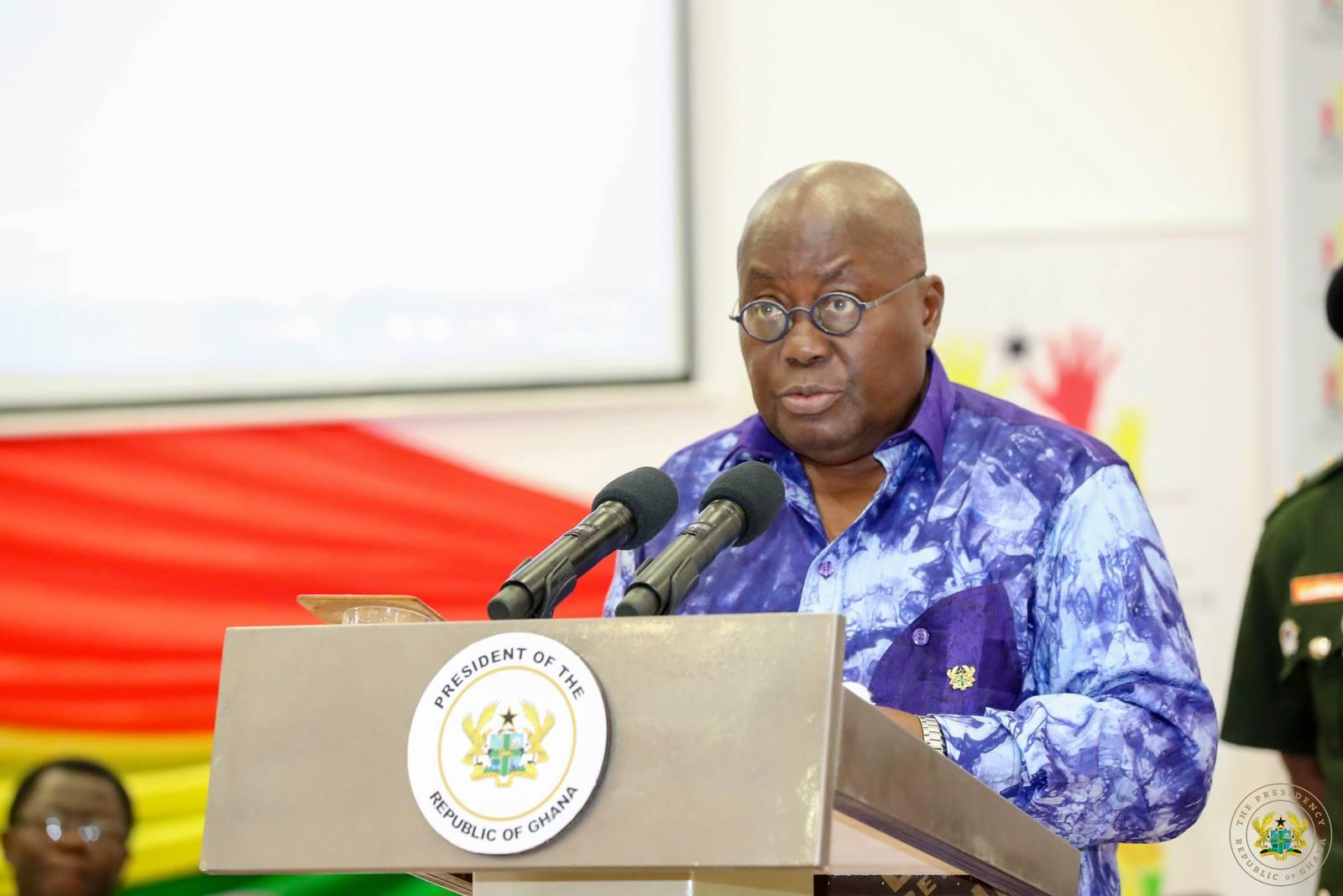 Nana Addo outdoors social development plan