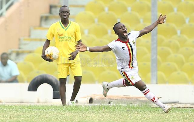 GPL Week 10: Match Report- Asante Kotoko 0-1 Hearts of Oak - Patrick Razak's second half magic pips sloppy Porcupines