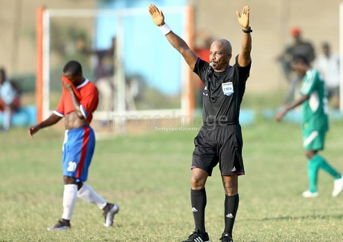 BREAKING NEWS: CAF sideline referee Reginald Lathbridge