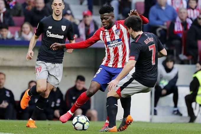Atletico Madrid midfielder Thomas Partey credits Diego Simeone for his remarkable form