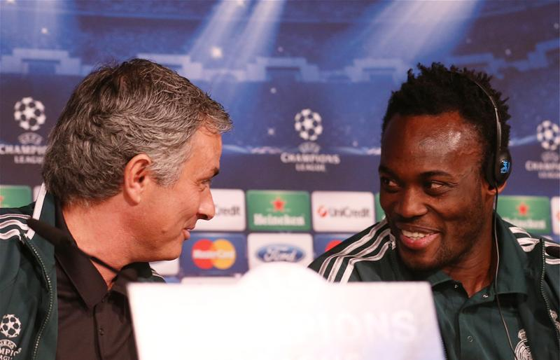 VIDEO: Michael Essien sheds tears on live television