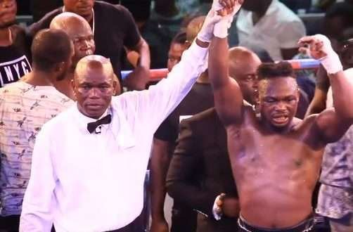 Ace Ghanaian boxing referee Fred Ghartey passes on