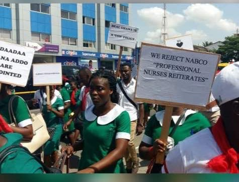 """""""We will vote you out in 2020"""" – Nurses to Nana Addo"""