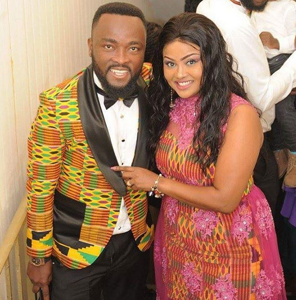 'Whether he smiles or frowns, he's my husband' - Nana Ama McBrown