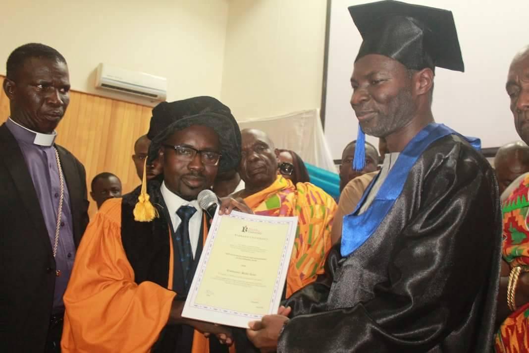 PHOTOS: Prophet Badu Kobi Honoured With A Doctorate Degree