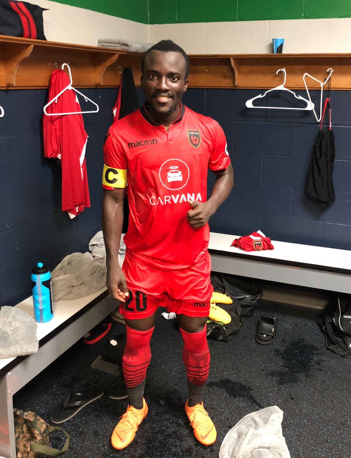Ghana winger Solomon Asante appointed captain of Phoenix Rising