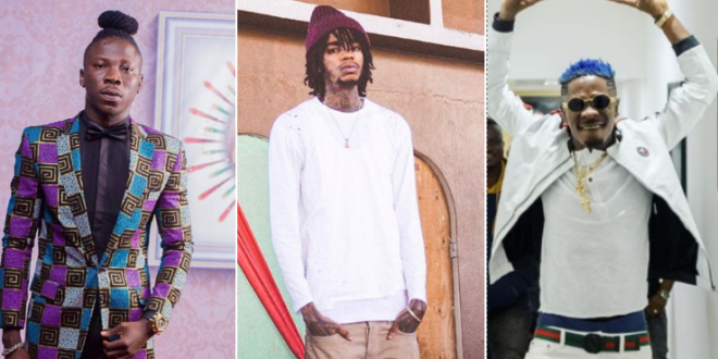 'Comparing Stonebwoy to Shatta is just like you're comparing a football club in Ghana to Barcelona' - Alkaline declares