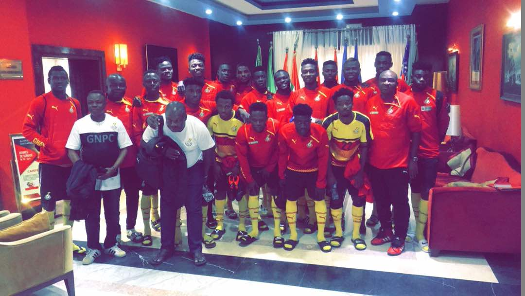 VIDEO: Black Satellite players gear up for AYC clash against Algeria with 'Akwaaba' dance
