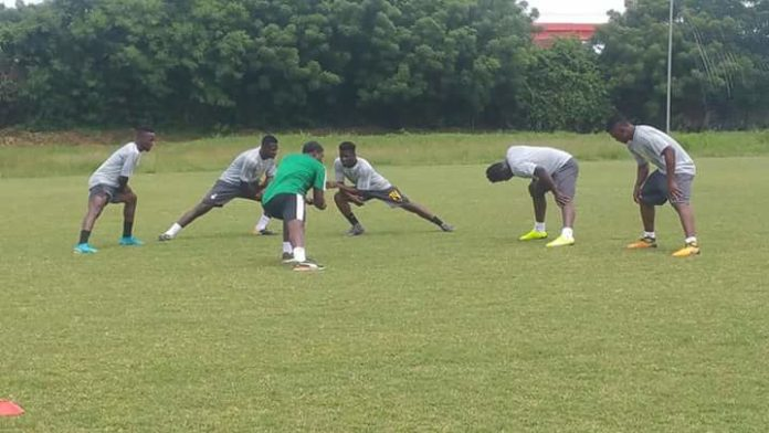 Six players showed up at Black Stars training for day ahead of Japan, Iceland friendlies