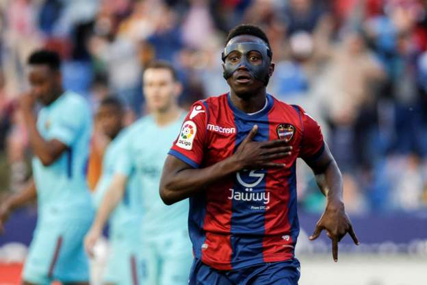 """It feels great to write my name in Spanish LaLiga record books"" - says Emmanuel Boateng"