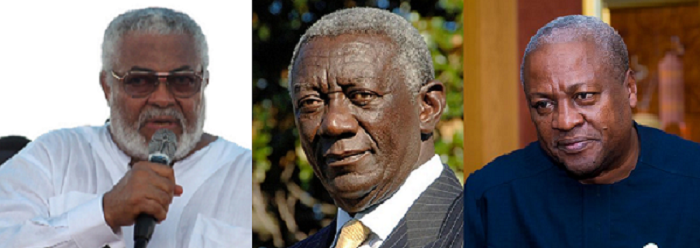 If I see Mahama and Kufuor in heaven, I'll join satan in hell - Rawlings continues attack on ex presidents