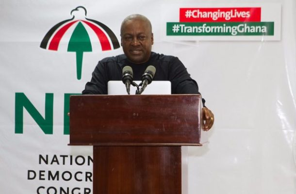 NDC 2020: I'm ready to go again after listening to your calls - Mahama