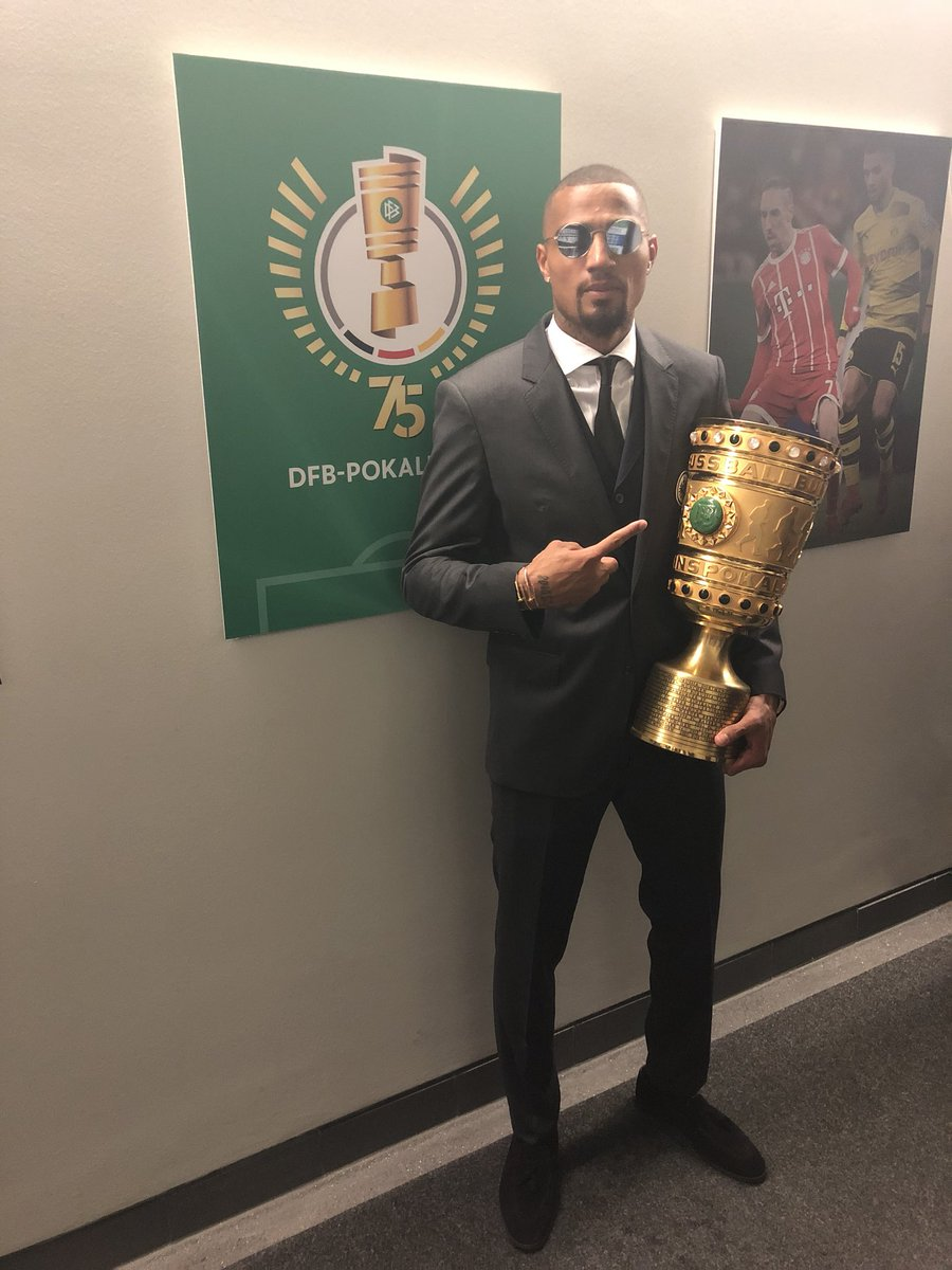 Kevin Prince Boateng excels as Eintracht Frankfurt thump Bayern Munich to win German Cup