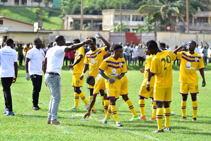 Medeama 4-1 Wa All Stars- Rampant Medeama demolish Wa All Stars in Tarkwa
