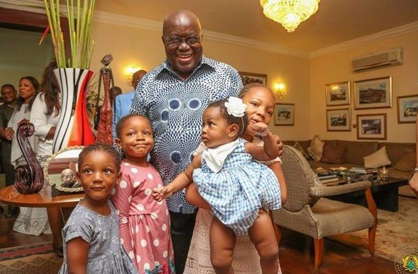 President Akufo-Addo takes wife, children, grandchildren on one week vacation to UK