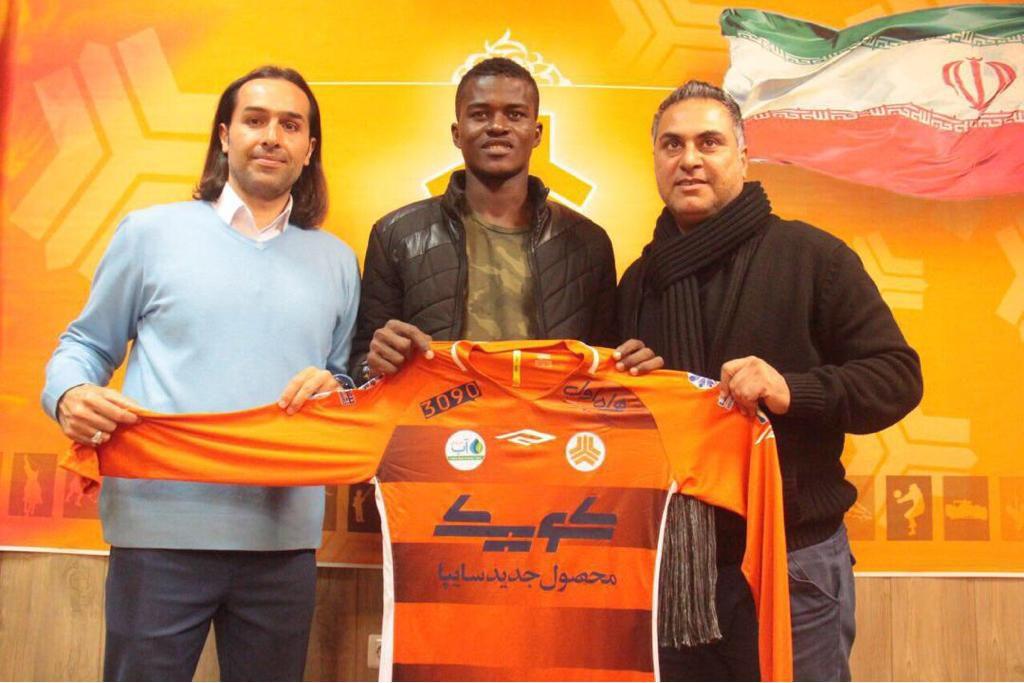 """""""Iranian Pro League is far ahead of the Ghana League"""" - Samuel Sarfo"""