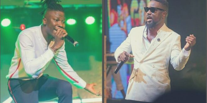 VIDEO: Shatta Wale misses out as Stonebwoy & Sarkodie perform together at Nana Appiah Mensah private birthday party