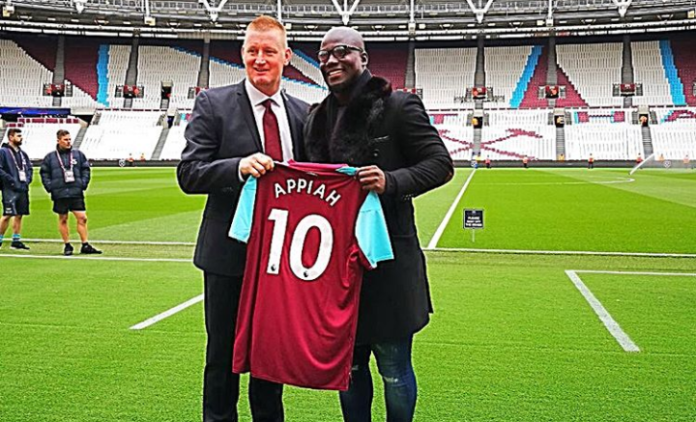 Former Black Stars captain Stephen Appiah joins West Ham United?