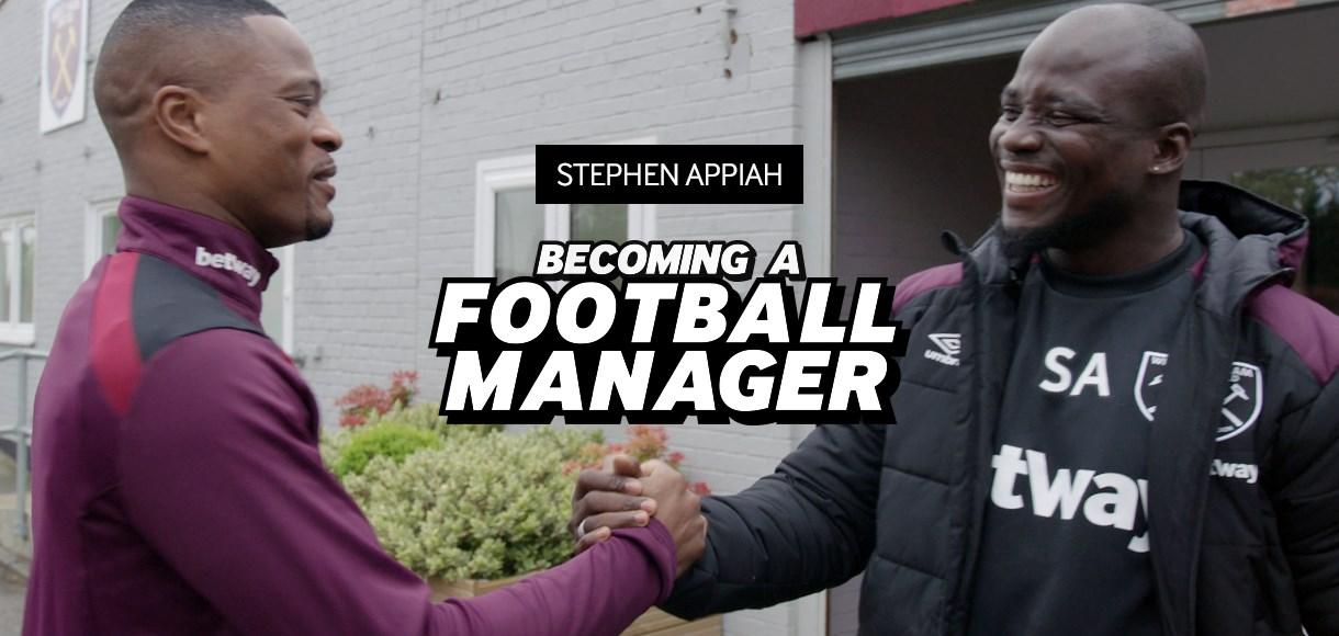 VIDEO: Ghana legend Stephen Appiah starts management journey at West Ham