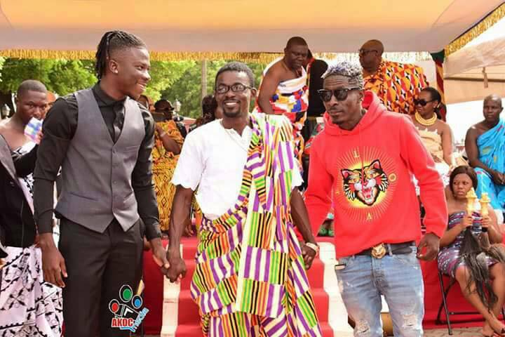 Stonebwoy asks his fans to forget the past and support Nana Appiah & Zylofon