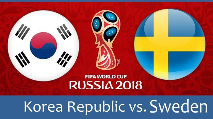 Russia 2018: Sweden v Korea Republic