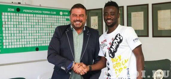 OFFICIAL: Ghanaian defender Abraham Frimpong completes Ferencvarosi switch