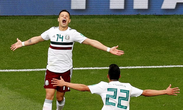 South Korea 1-2 Mexico: Mexico hold off South Korea to pile pressure on Germany