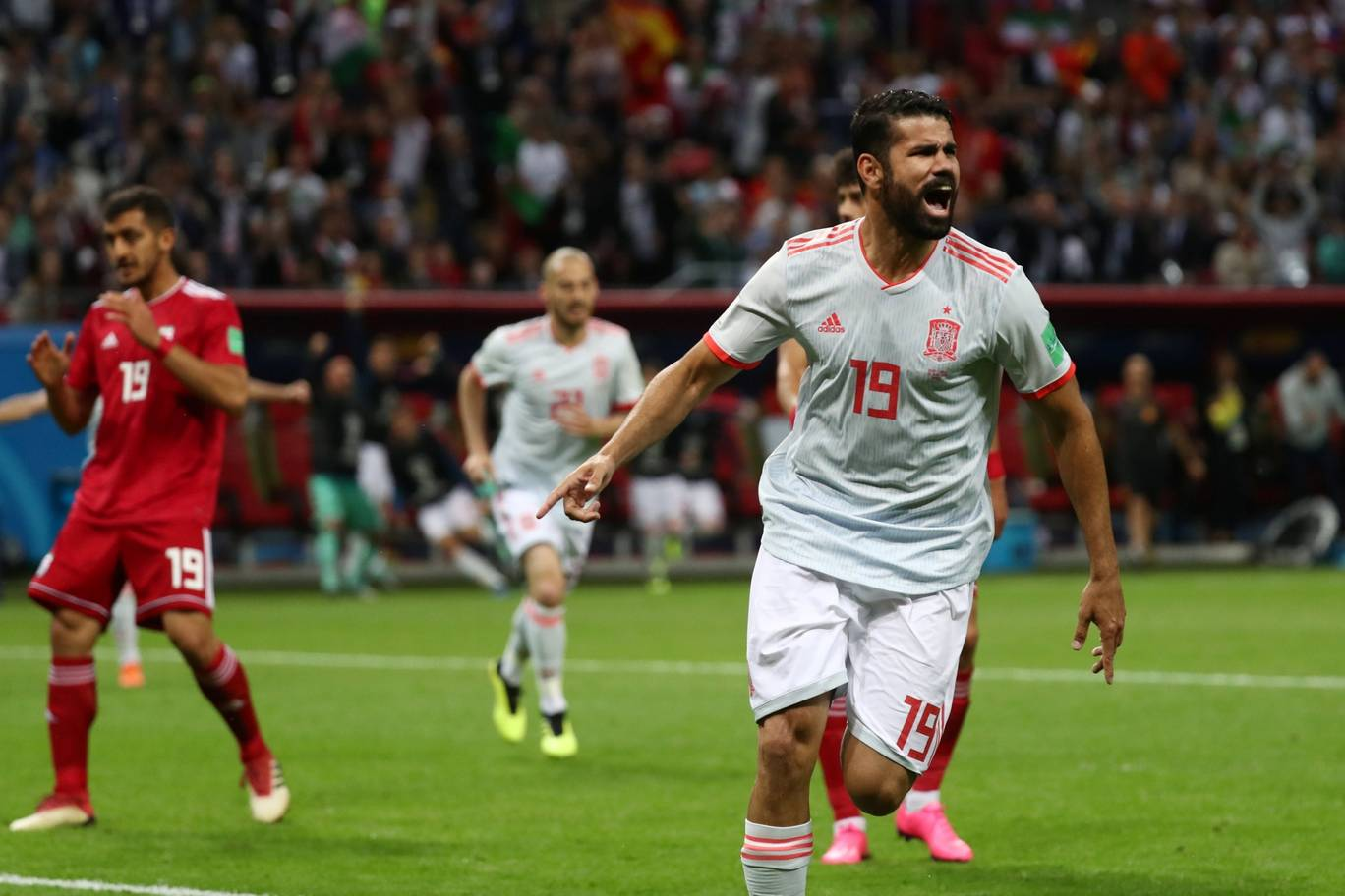 Iran 0-1 Spain: Diego Costa gets lucky to seal vital World Cup 2018 win