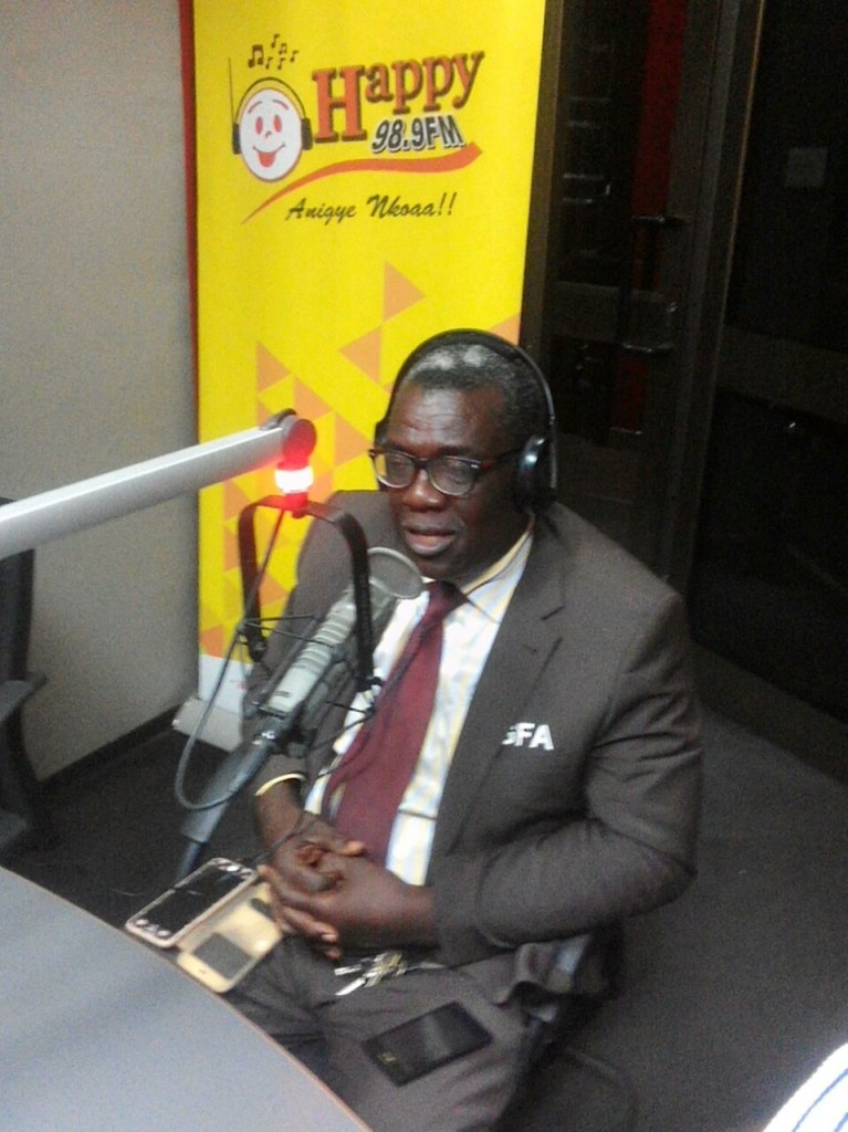 VIDEO: Greater Accra football chief Eddie Doku busted in Anas' expose