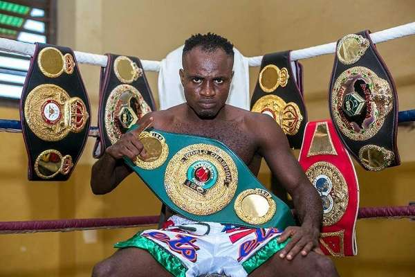 Boxer Emmanuel Tagoe stripped of IBO belt