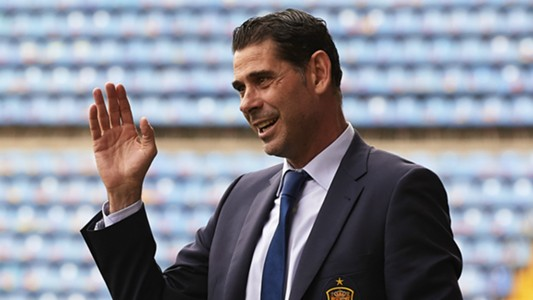Fernando Hierro takes over as Spain boss for World Cup