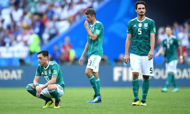 South Korea 2-0 Germany - Holders out of World Cup 2018 after losing to South Korea as Sweden and Mexico go through