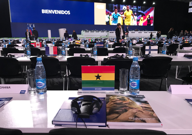 Ghana not taking part in 2026 World Cup voting