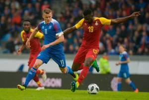 Iceland midfielderGylfi Sigurdsson bemoans second half collapse against Ghana
