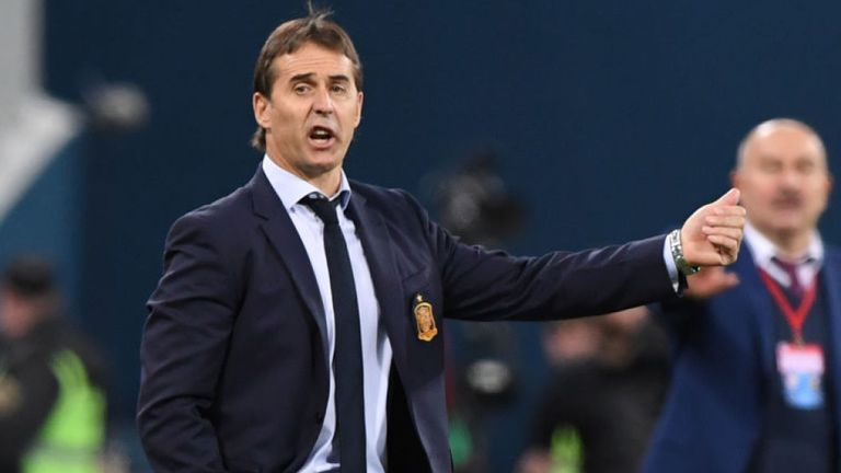 Breaking News: Julen Lopetegui has been sacked by Spain