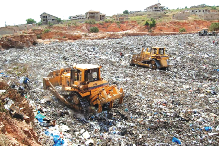 AMA begs Kpone landfill site to operate 24-hours