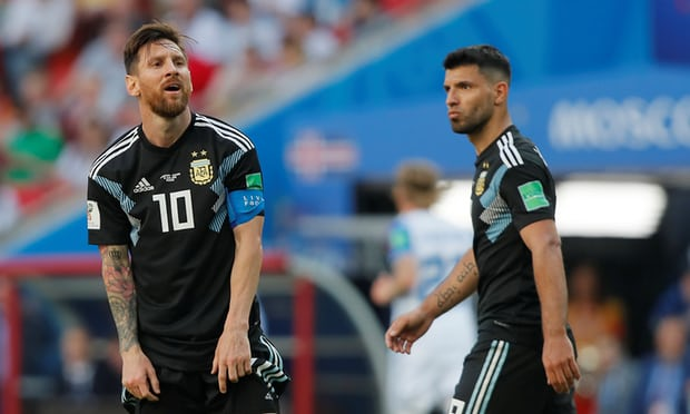 Argentina 1-1 Iceland: Messi misses penalty as World Cup debutants secure stunning draw