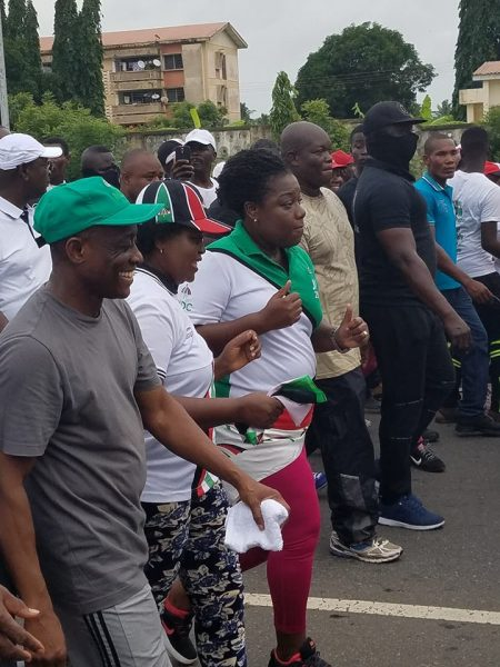 'Unity Walk' was thorn in NPP flesh; NDC hints of 'something bigger'